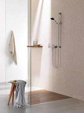 Timeless Modern Shower
