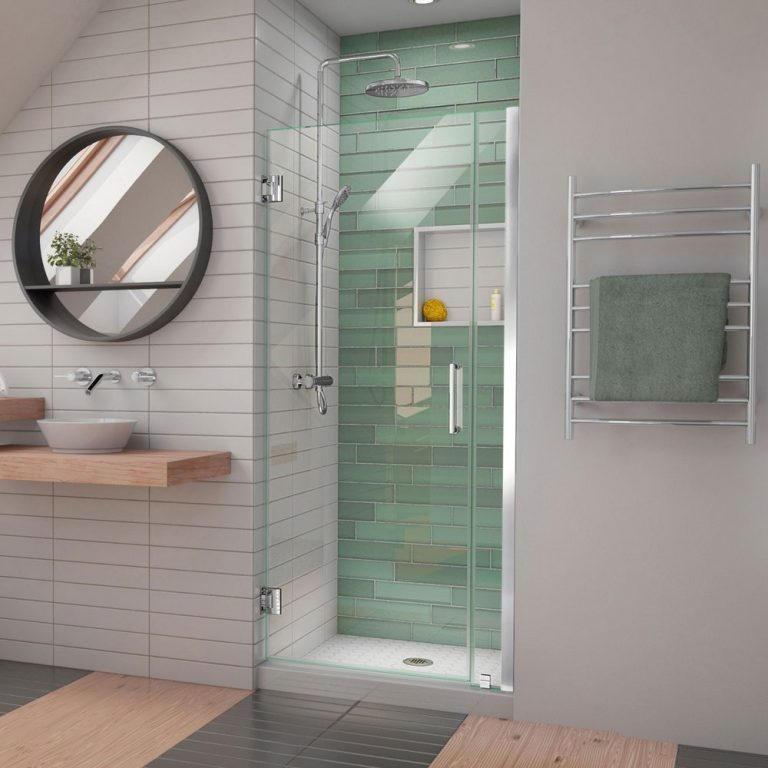 Tiny Modern Shower