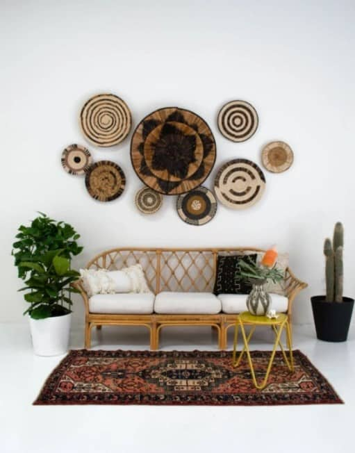 Traditional Wall Baskets