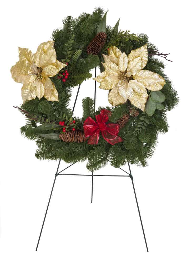 Tripod Wreath Stand