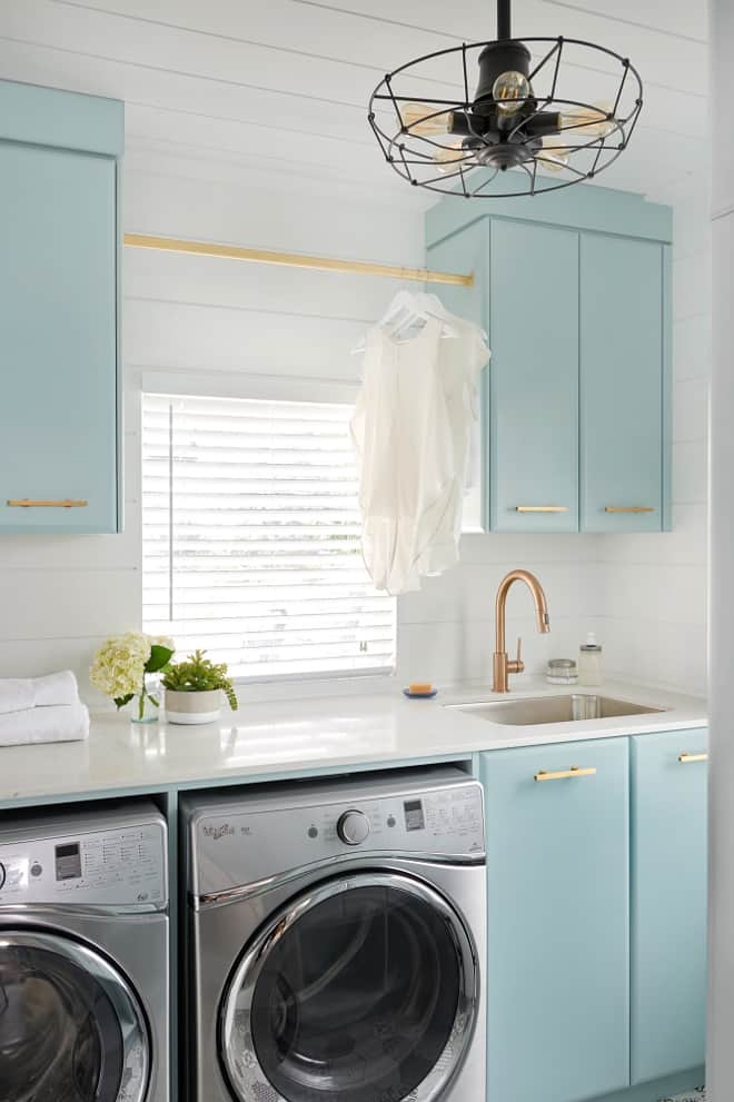 Turquoise Laundry Room Ideas