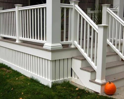 Unduepinning Deck Skirting