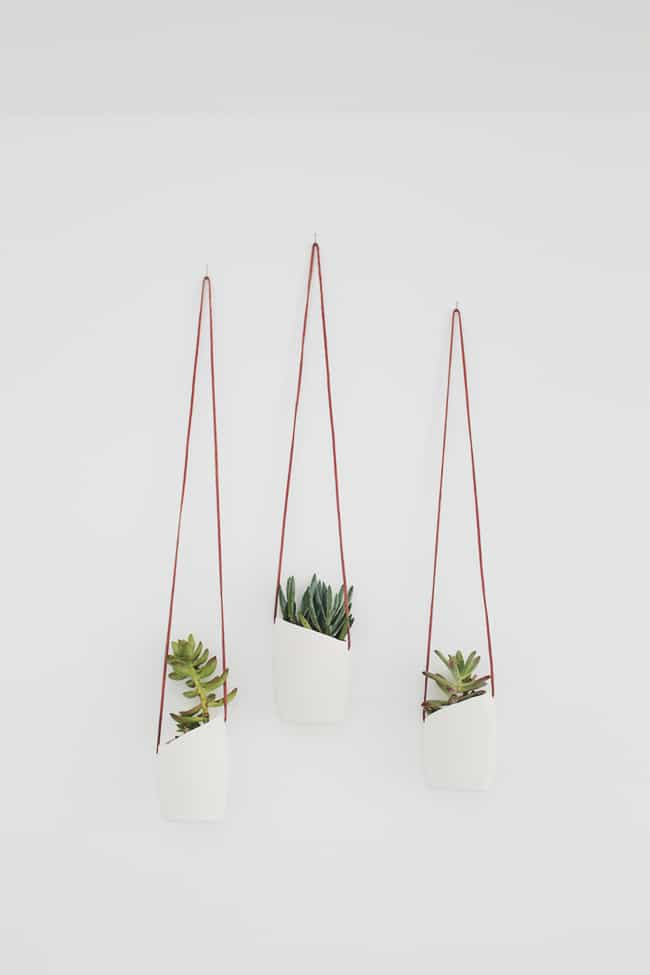 Upcycled Wall Planters Indoor