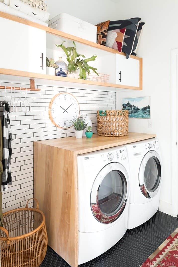 Wooden Laundry Room Ideas