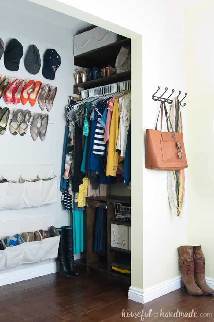 Walk-in Closet for Small Space