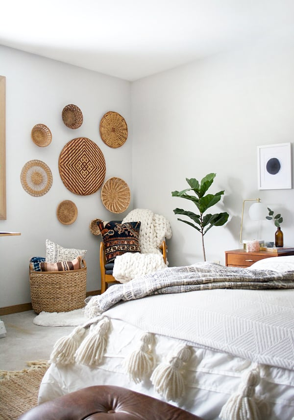 Wall Baskets For Bedroom