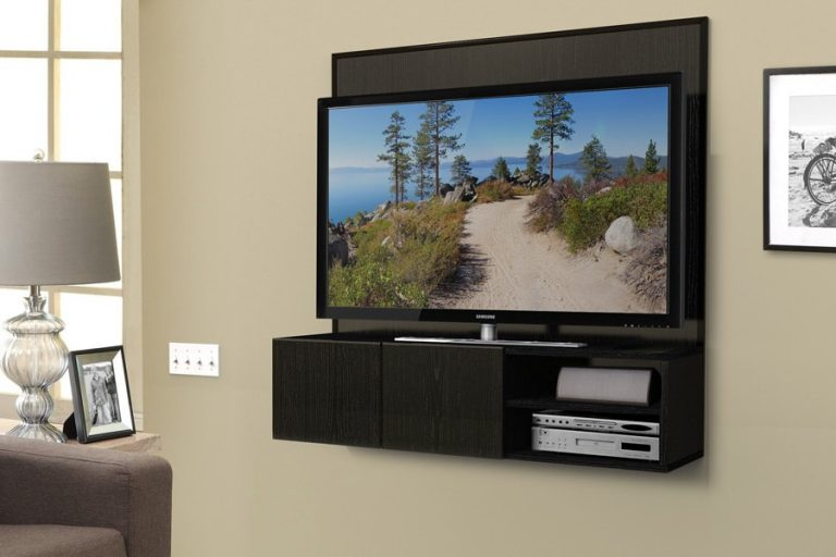 Wall-Mounted DIY TV Stand Ideas