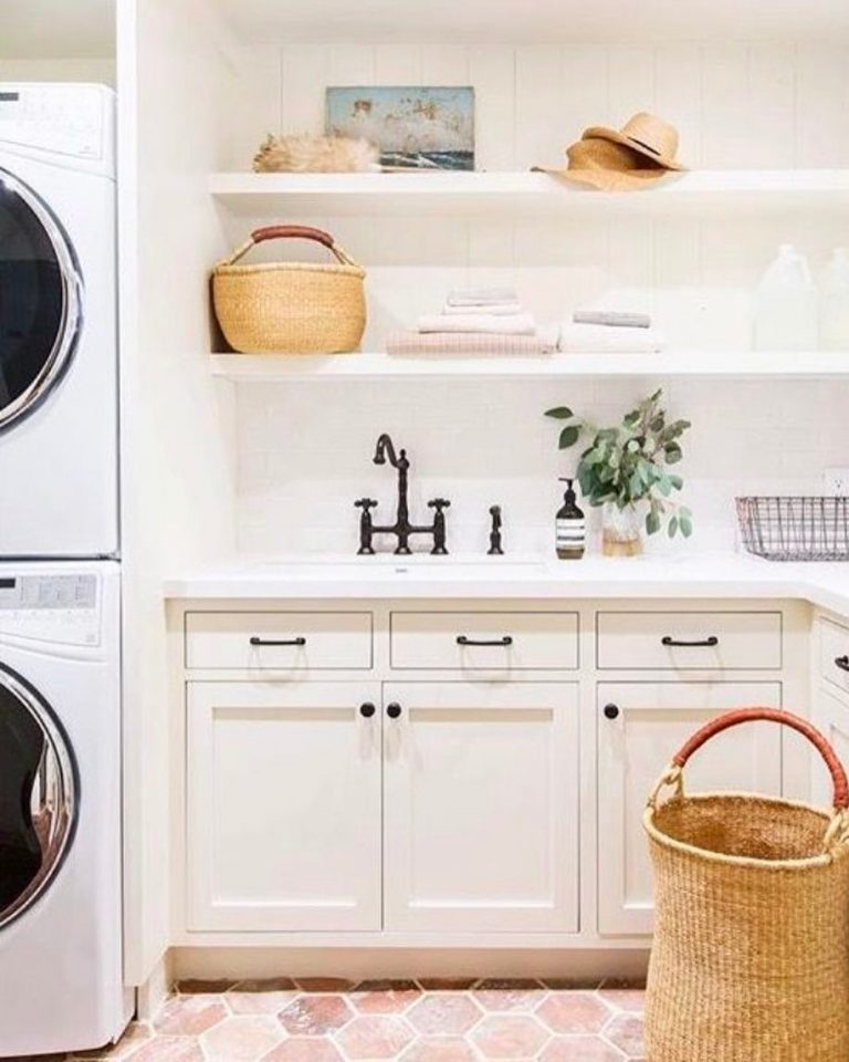 Warm Laundry Room