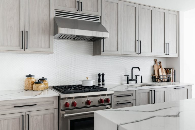 White Penny Tiles And White Grout