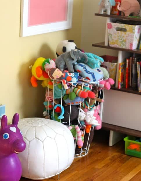 Wire Stuffed Animal Storage