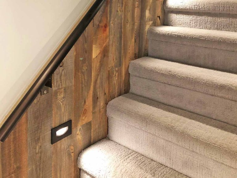Wood Accent Wall Staircase Ideas