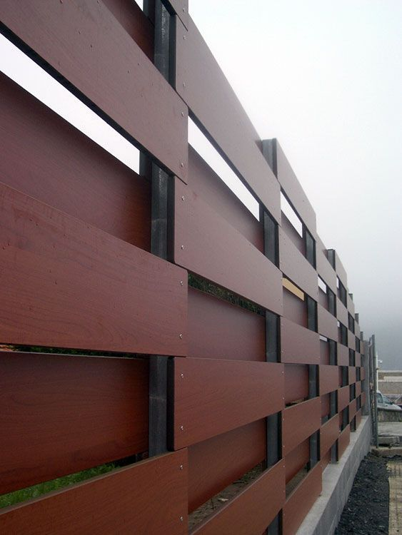 Wood Outdoor Privacy Screens