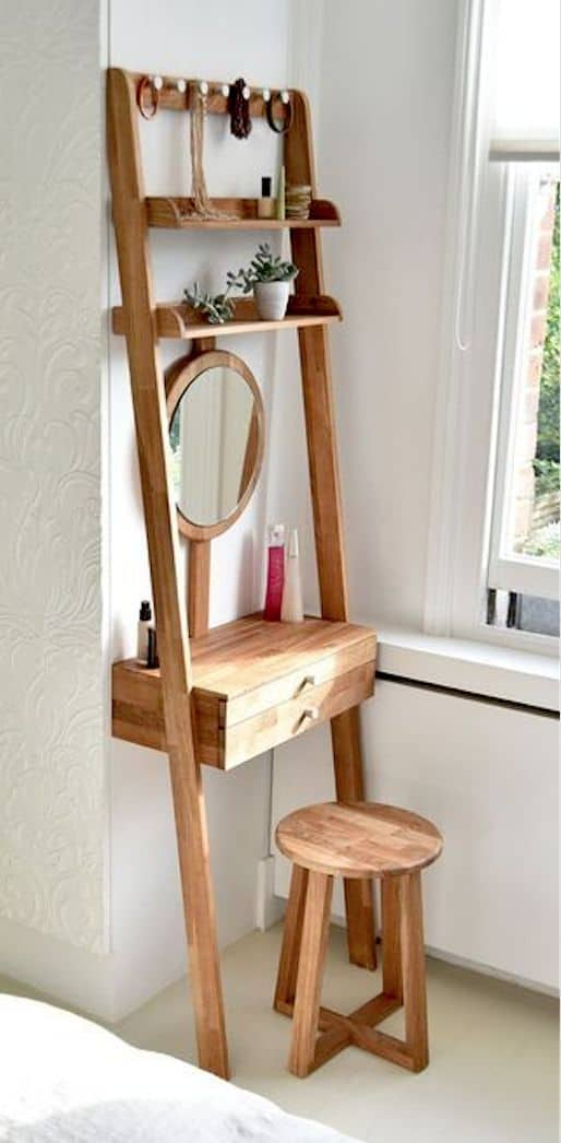 Wooden Makeup Storage Ideas