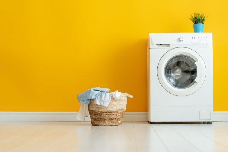 Yellow Laundry Room Paint Colors