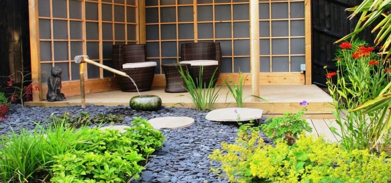 Zen Inspired Backyard Idea